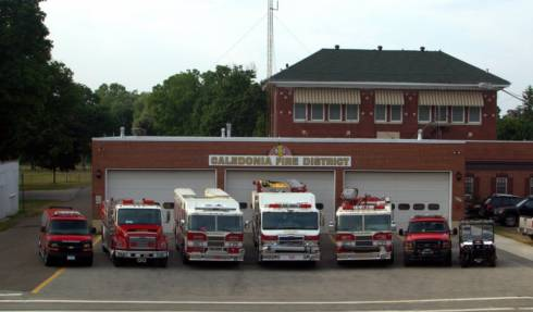 Caledonia Fire District Apparatus